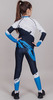 Nordski Jr Premium детский гоночный комбинезон deep blue-white - 2