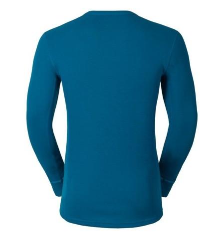 Odlo Warm мужская терморубашка синий морской
