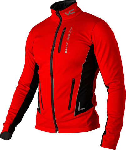 Victory Code Speed Up разминочная лыжная куртка red