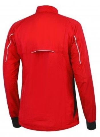 NONAME ROBIGO куртка для бега унисекс красная