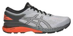 Asics Gel Kayano 25 кроссовки для бега мужские серые-оранжевые