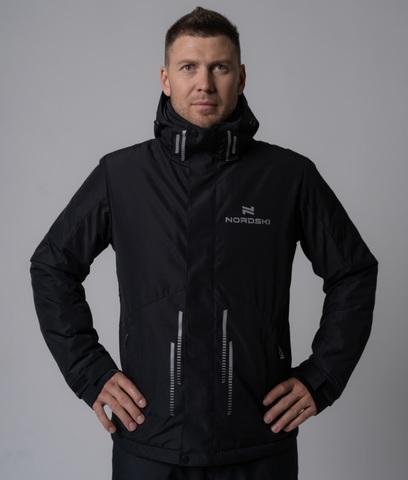 Nordski Extreme горнолыжная куртка мужская black