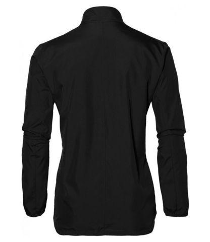 Asics Silver женская ветрозащитная куртка черная