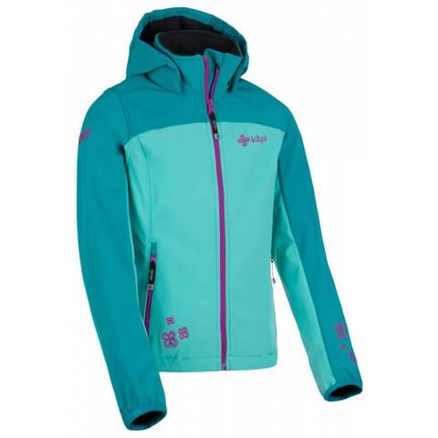 Kilpi ELIA-J разминочная лыжная куртка детская