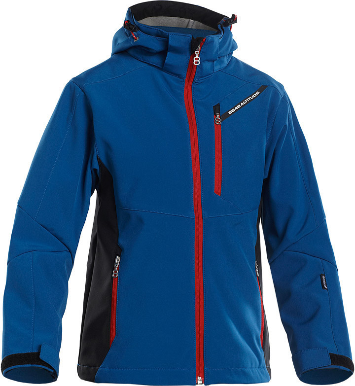 Детская Лыжная Куртка 8848 Altitude Apex JR Softshell Blue детская