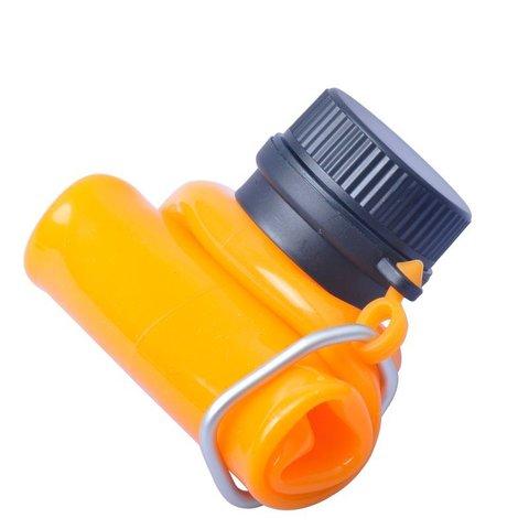 AceCamp Squeezable Silicone Bottle 550 складная бутылка оранжевая