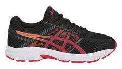 Asics Gel Contend 4 GS кроссовки для бега детские черные-красные
