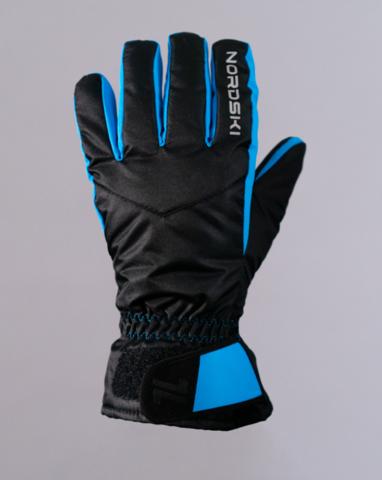 Nordski Arctic Membrane перчатки мембранные black-blue