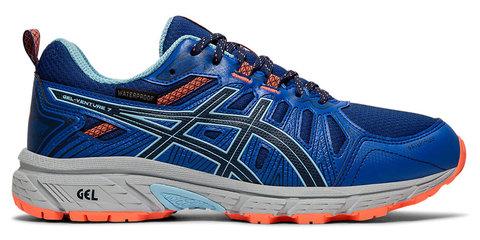 Asics Gel Venture 7 Wp кроссовки-внедорожники для бега женские синие