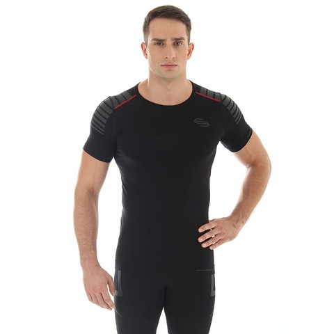 Brubeck Impuls мужская спортивная футболка черная