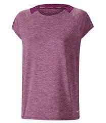 Футболка женская Mizuno Lyra Tee фиолетовая