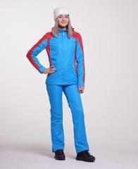 Nordski National ветрозащитный костюм женский blue