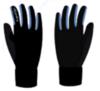 Nordski Warm лыжные перчатки синие - 2
