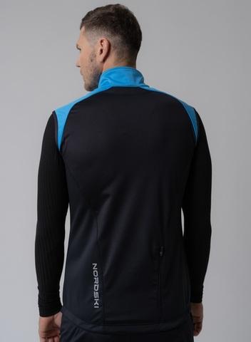 Nordski Premium лыжный жилет мужской light blue