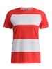 Gri Маяк футболка женская красно-белая - 1