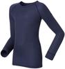 Odlo Warm детское термобелье рубашка navy - 3
