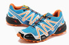 Кроссовки Salomon Speedcross 3 blue orange - 2