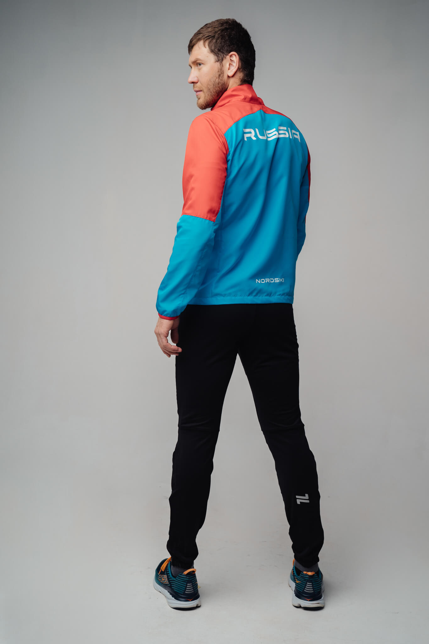 Nordski Sport костюм для бега мужской red-blue - 2
