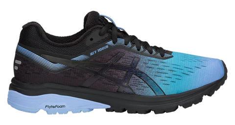 Asics Gt 1000 7 Sp кроссовки для бега женские черные-голубые