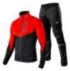 Victory Code Go Fast разминочный лыжный костюм красный - 1