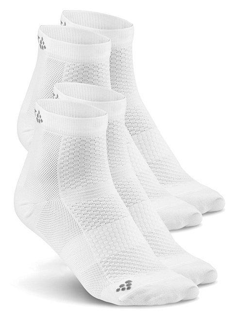 Комплект спортивных носков Craft Cool 2 пары белые
