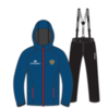 Nordski Patriot Premium утепленный лыжный костюм женский blue-black - 3