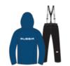Nordski Patriot Premium утепленный лыжный костюм женский blue-black - 4