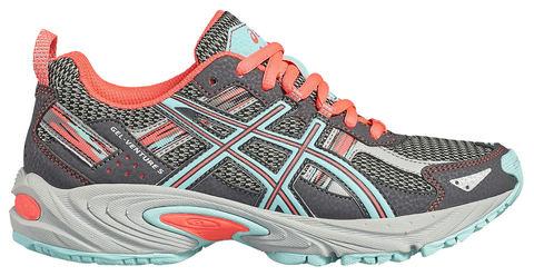 Asics Gel Venture 5 Gs кроссовки для бега детские серые