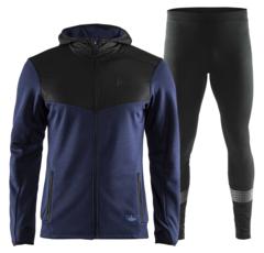 Craft Breakaway Brilliant костюм для бега мужской blue