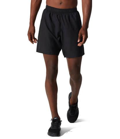 """Asics Core 2 In 1 7"""" Short шорты для бега мужские черные"""