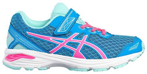 Asics Gt 1000 5 Ps беговые кроссовки для девочек голубые