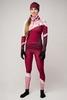 Nordski Premium лыжный гоночный комбинезон женский бордо-rose - 3