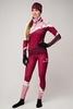 Nordski Premium лыжный гоночный комбинезон женский бордо-rose - 1