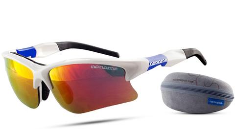 Noname Wolfracing спортивные очки white-blue