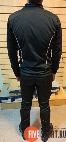 Victory Code Dynamic разминочный лыжный костюм с лямками black
