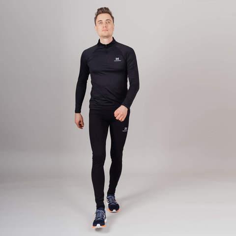 Nordski Pro комплект для бега мужской black