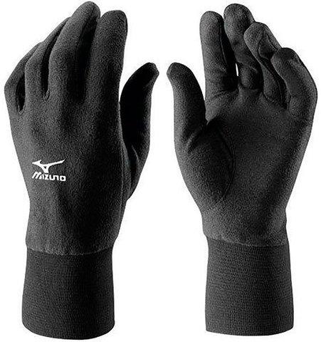 Mizuno BT Mid Weight Fleece Glove беговые перчатки черные