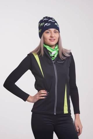 Nordski Active женский лыжный жилет лайм