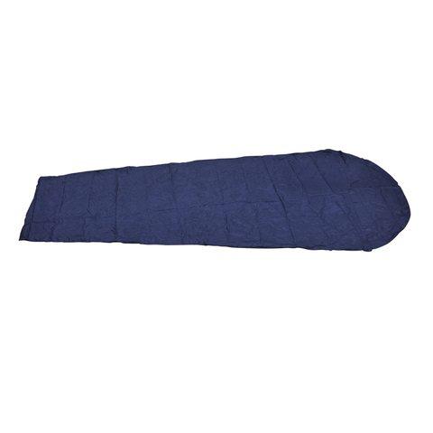 AceCamp Sleeping Bag Liner Polyester Mummy вкладыш-кокон в спальный мешок синий