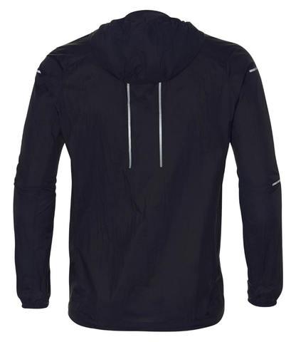 Asics Lite Show Jacket ветрозащитная куртка мужская черная