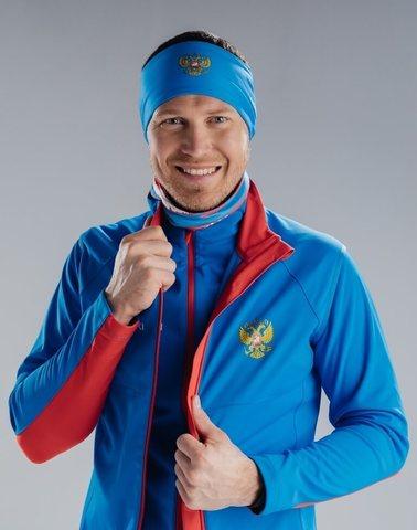 Nordski Elite RUS разминочный лыжный жилет мужской