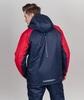 Nordski Premium Sport теплая лыжная куртка мужская navy-red - 2