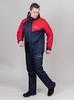 Nordski Premium Sport теплая лыжная куртка мужская navy-red - 3