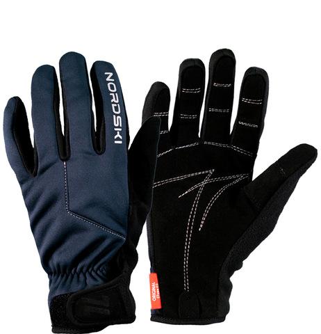 Nordski Jr Racing WS перчатки гоночные детские blueberry