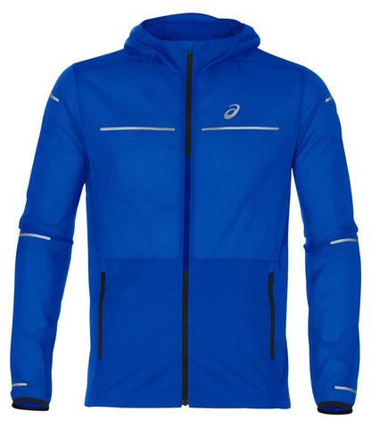 Asics Lite Show Jacket ветрозащитная куртка мужская синяя