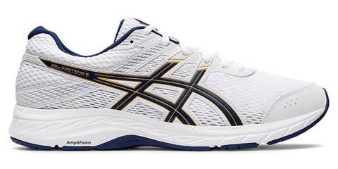 Asics Gel Contend 6 кроссовки для бега мужские белые