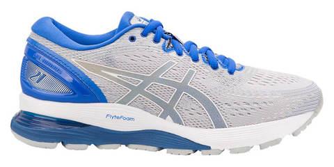 Asics Gel Nimbus 21 Lite Show кроссовки беговые женские белые-синие