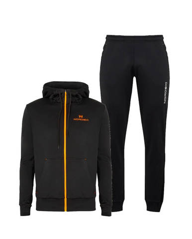Nordski Hood Cuff спортивный костюм мужской black-orange