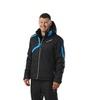 Nordski Premium мужская утепленная лыжная куртка black/blue - 1