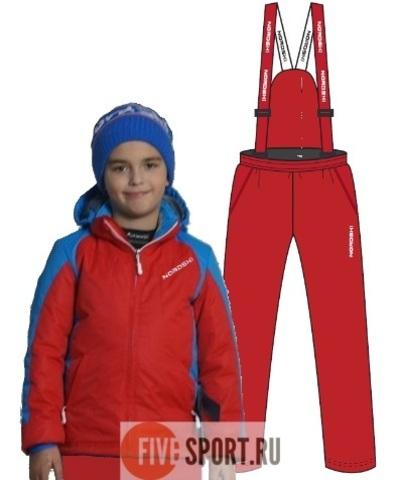 Nordski Junior National прогулочный лыжный костюм детский red